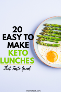 20 Easy to Make Keto Lunches