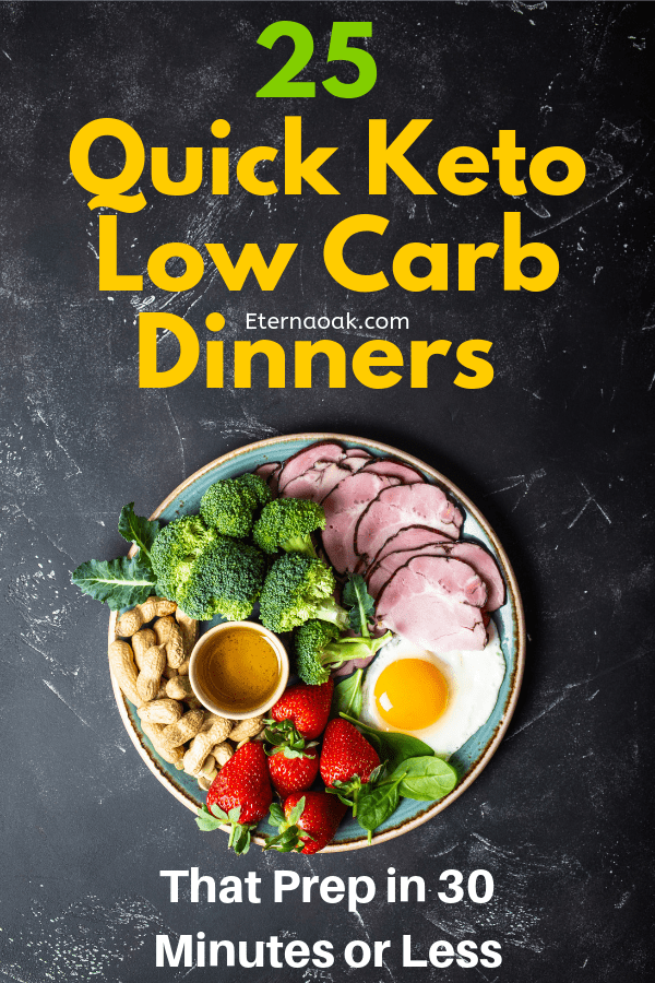 25 Quick Keto Low Carb Dinners